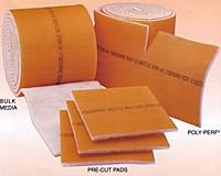 22 x 22 - Dustlok Dual-Ply Pad Filter (No Frame) - MERV 9