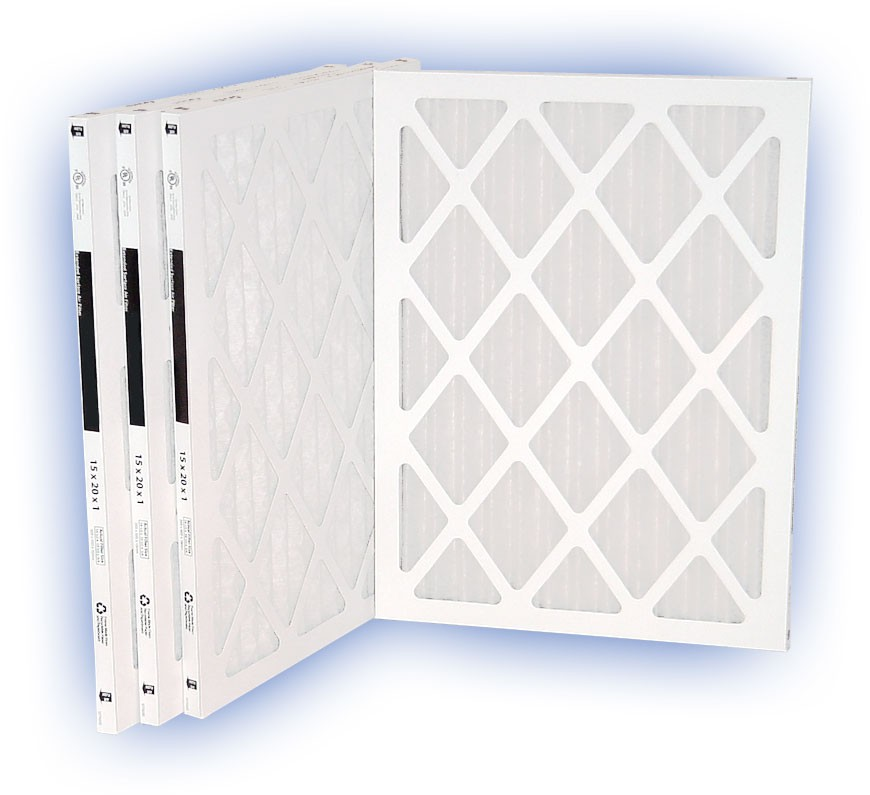 12 x 20 x 1 - DP MAX40 Pleated Panel Filter - MERV 8 (4-Pack)