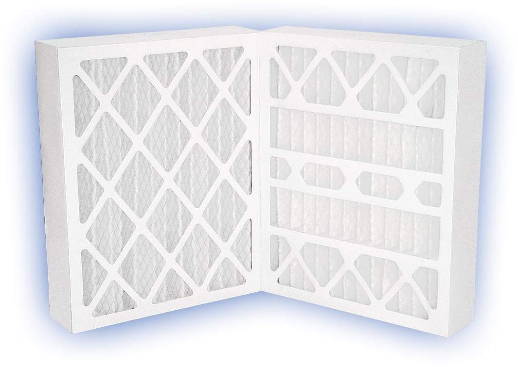 16 x 25 x 4 - DP Green 13 Pleated Panel Filter - MERV 13 (6-Pack)