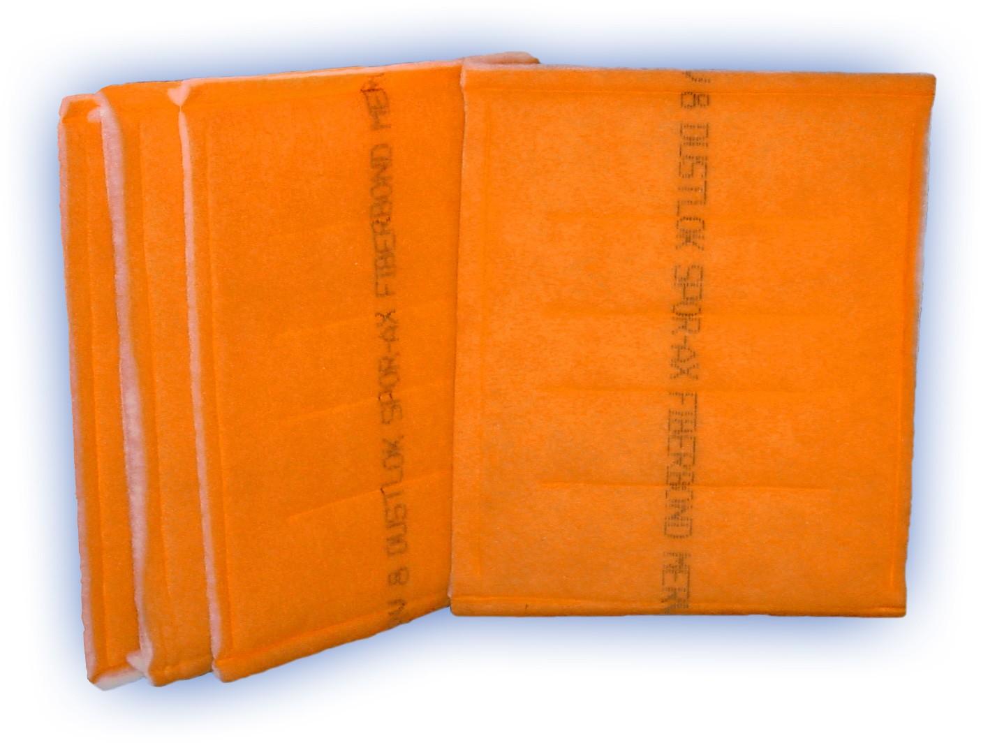 25 x 25 - Fiberbond DustLok 3-ply Panel Filter - MERV 9 (24-Pack)
