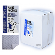 20 x 25 - Paint Pockets WHITE Overspray Arrestor - Case of 30