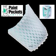 20 x 20 - Paint Pockets GREEN Overspray Arrestor - Case of 40