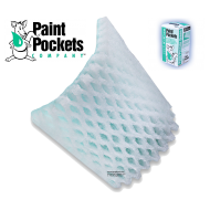 20 x 20 - Paint Pockets GREEN Overspray Arrestor - 8 boxes of 40 - 320 Filters