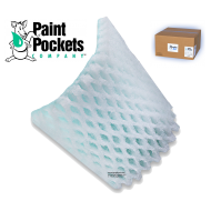 20 x 20 - Paint Pockets GREEN Overspray Arrestor - box of 10