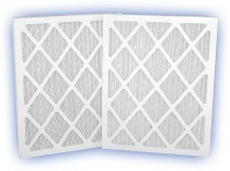 12 x 24 x 1 - DP Green 13 Pleated Panel Filter - MERV 13 4-Pack