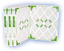14 x 25 x 2 - Airguard DP Green 13 Pleated Panel Filter - MERV 13 (4-Pack)