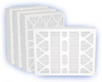24 x 24 x 4 - Airguard DP Green 13 Pleated Panel Filter - MERV 13 (4-Pack)