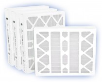 16 x 25 x 4 - DP MAX40 Pleated Panel Filter - MERV 8 (6-Pack)