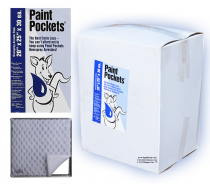 20 x 25 - Paint Pockets WHITE Overspray Arrestor - Case of 30