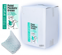 20 x 25 - Paint Pockets GREEN Overspray Arrestor - Case of 40