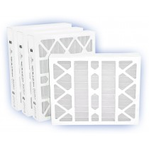 12 x 24 x 4 - DP MAX40 Pleated Panel Filter - MERV 8 (4-Pack)